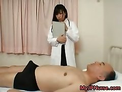 Japanese doctor is lascivious for dick part1