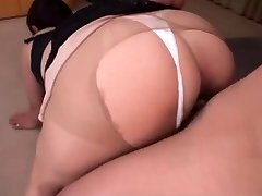 Japanese MOTHER I'D LIKE TO FUCK pantyhose fuck