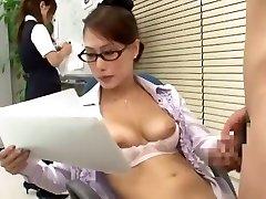 Incredible Japanese beauty Yayoi Yanagida in Best Office, Doggy Style JAV scene