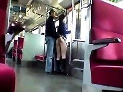 Oriental in public nudity