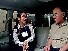 Emiri Toda in Trip Guide Gets Screwed In A Van - CosplayInJapan