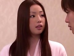 Horny Japanese angel Risa Kasumi in Incredible Rimming JAV movie