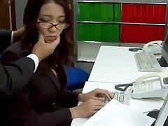 Subtitles - Boss drilled her japanese secretary Ibuki