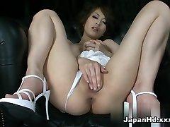 Insane pornstar Saki Ootsuka in Most Excellent Solo Girl, Dildos/Toys porn clip