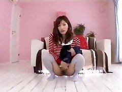 Hottest Japanese bitch Chika Eiro in Lustful Pissing, College JAV scene