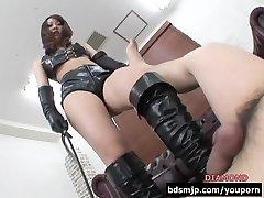 Flogging femdom facesitting domination