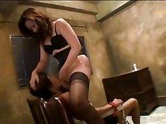 gorgeous dominatrix-bitch jun