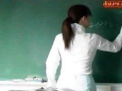 Sexy japanese teacher