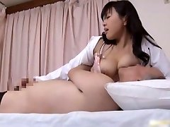 Japanese doctor is slutty for shlong