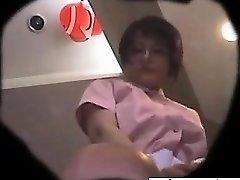 she's from ASIA-MEET.COM - Japanese waitress upskirt 1