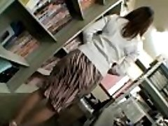Asian housewife milf gets stripped