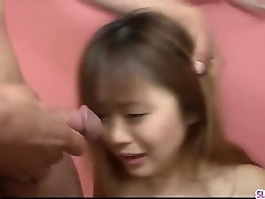 Noriko Kago greets monstrous inches of cock down the ass