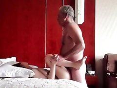 oldman com a menina chinesa