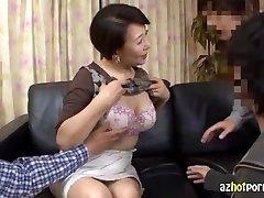 AzHotporn.com - Kimiko Ozawa Virgin Cougar Hunting