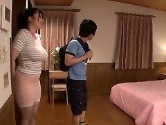 Exotic Japanese model in Horny Nips, Threesome JAV movie