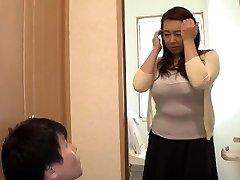 Playing With My Widow Stepmom... Yumi Kazama