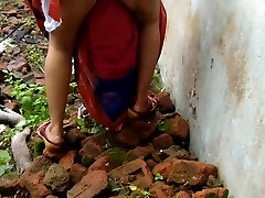 Devar Outdoor Pummeling Indian Bhabhi In Abandoned House Ricky Public Bang-out