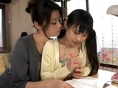 Astonishing gonzo video Lesbian try to watch for only here