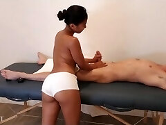 Asian Massage Turns Into Plow Session