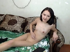 cute young russian asian web cam-slut