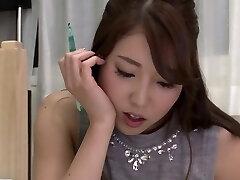 Horny Japanese slut in Hottest Massage, Girl-girl JAV video