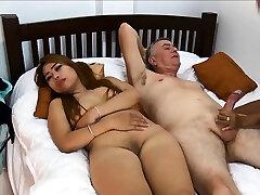 Thai girlfriend brings her friend along for a threeway