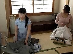 Japanese teenage in school uniform