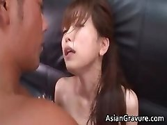 Hot and sexy asian assistant blows rock hard part4
