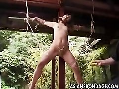 Chinese Restrain Bondage outdoor (uncensored)