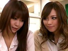Horny Asian girl Tempts Teacher Lesbian