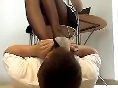 Sexual feet odorous