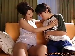 Horny chinese mature babes inhaling part2