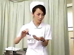 Nurses strain man-meat that is dark-hued