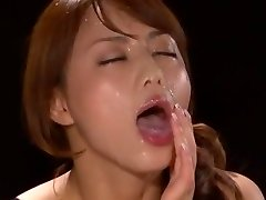 Impressive Japanese model Akiho Yoshizawa in Handsome POV, Facial JAV scene