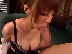 Horny Japanese dame Tsubasa Amami in Amazing Handjobs, Blowjob JAV vid