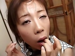 Best Japanese nymph in Kinky JAV uncensored Blowjob video