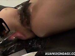 Asian babe dlhopisov a fuckd tým, kurva