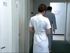Hottest Japanese model Aya Kiriya, Mirei Yokoyama, Emiri Momoka in Exotic Nurse JAV vid