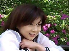 Nurse attire suits sexy Japanese gal Aki Hoshino