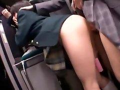 Best Japanese mega-slut Natsu Aoi, Yuu Shinoda, Hikaru Yuki in Unbelievable Masturbation, Lesbian JAV clip