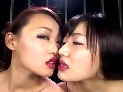 Japanese Lesbian Lip Liner Smooch II