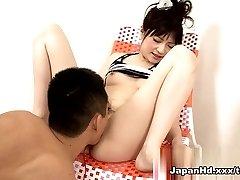 Extraordinaire pornstar Rika Sonohara in Hottest Fingering, Dildos/Toys adult pin