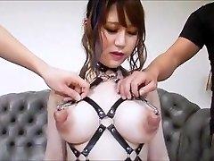 Asian -  Big Udders Huge Nipples