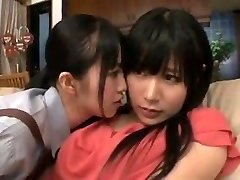 maid mommy daughter-in-law in lesbian action