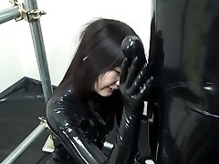 Chinese Latex Catsuit 92