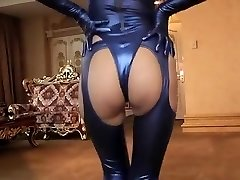 Crazy amateur Latex, Fetish gonzo scene