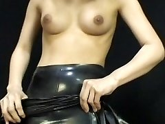 Japanese Latex Dress 054