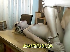 Long Legged Thai Stunner Imprissoned In Rusting Motel