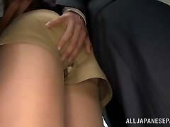 Akiho Yoshizawa getting plowed at the office