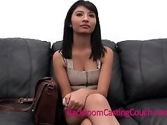 Hot Lady's Shocking Confession on Audition Couch